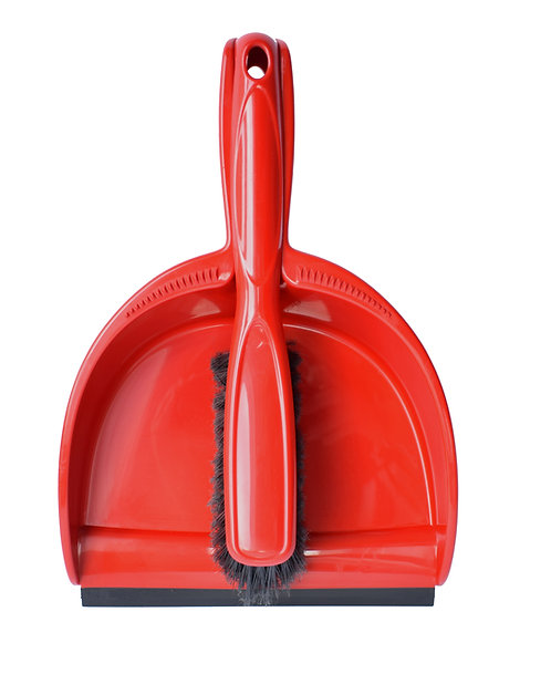CLEANING SET: BRUSH WITH DUSTPAN