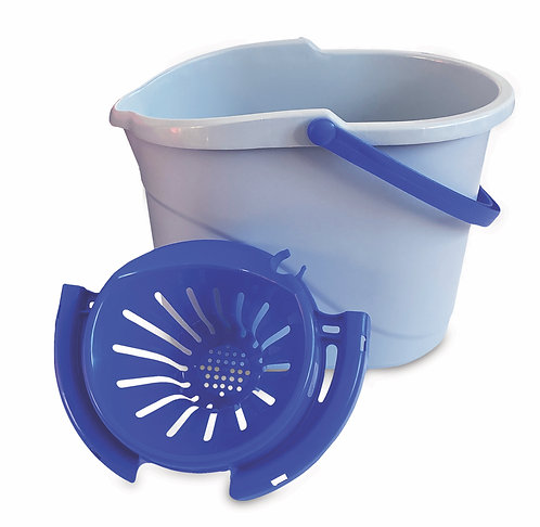 OVAL BUCKET WITH SQUEEZER