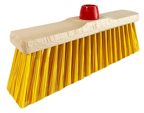 WOODEN OUTDOOR BROOM SMALL