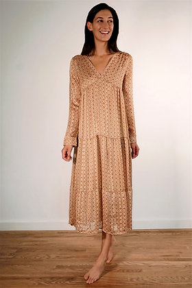 VINTAGE LOVE ELODIE GOLD DRESS