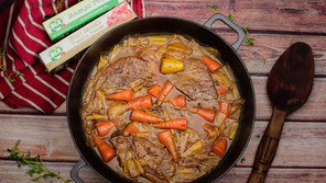 Slow Cooked Beef with Horseradish