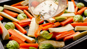 Roasted Vegetables with Maple and Garlic Glaze