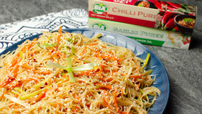 Chilli and Garlic Noodle Salad