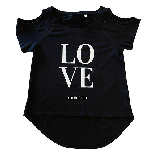 """""""Love your core"""" Tshirt"""
