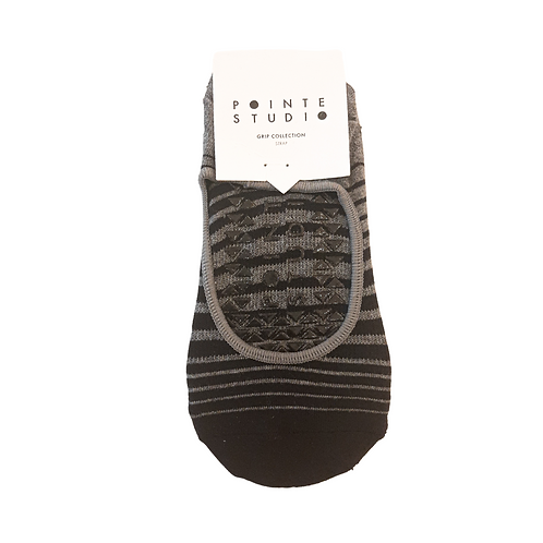 "Pointe Studio Grip Socks ""Stripes"""