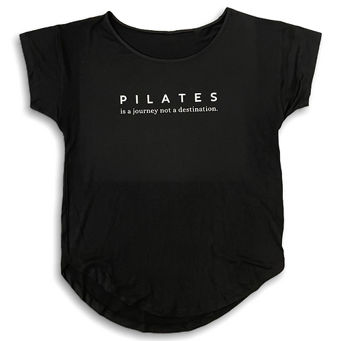 """""""Pilates is a journey"""" Tshirt"""