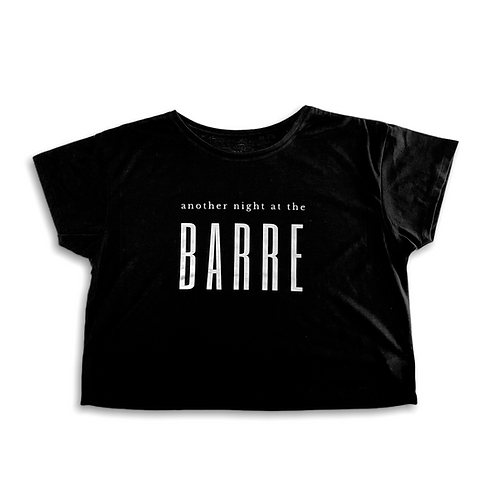 """""""Another night at the barre"""" Crop Shirt"""