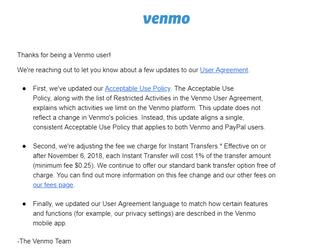 How Venmo's Change Impacts Financial Wellness