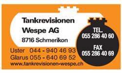 Tankrevision-Wespe
