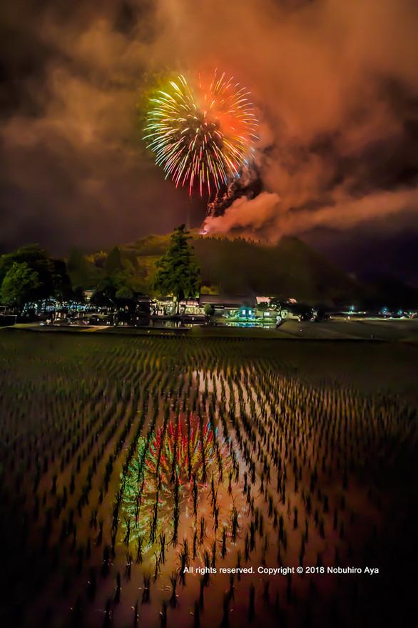 御田祭の里花火大会2018