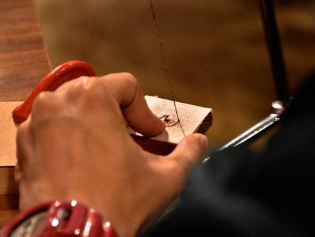 Bespecial x The Hackney白色情人節限定木戒指木作坊照片分享