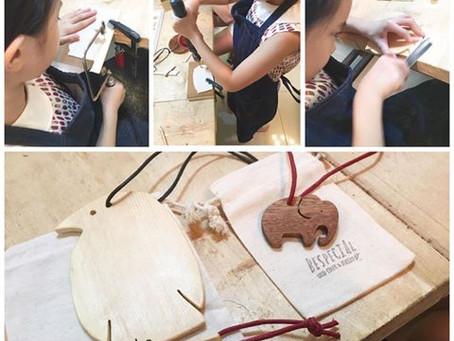 親子木工班