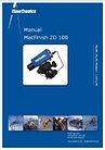 Manual MacFinish 2D 100