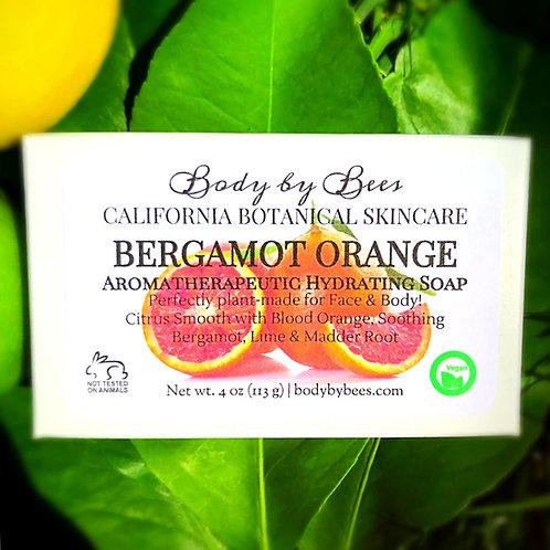 3-PACK BERGAMOT ORANGE All-Natural Aromatherapy Soap