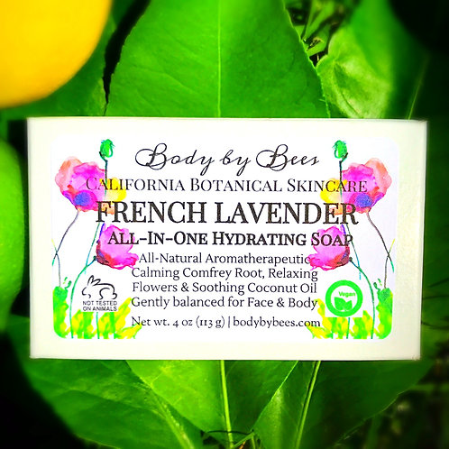 3-PACK LAVENDER All-Natural Aromatherapy Soap