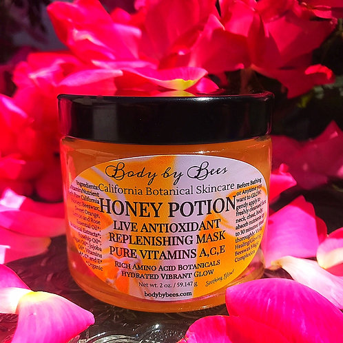 Soothing Antioxidant Honey Mask for a Healthy Glowing Complexion