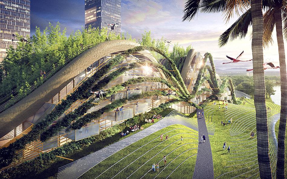 MuDD Architects Singapre housing light.j