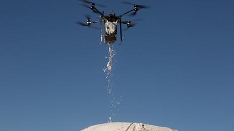 Drone Center Bioshotcrete