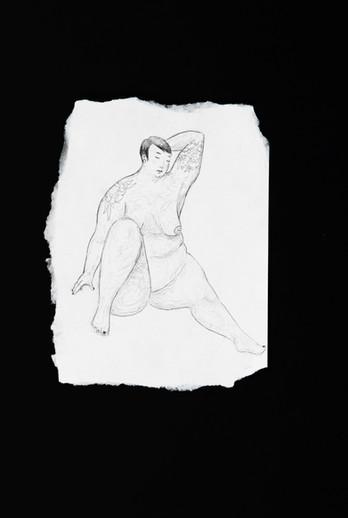 Neta Rose nude sketch with peony tattoos.jpg