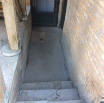 Stairs entering