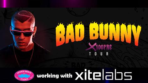 Bad Bunny Concert Visuals