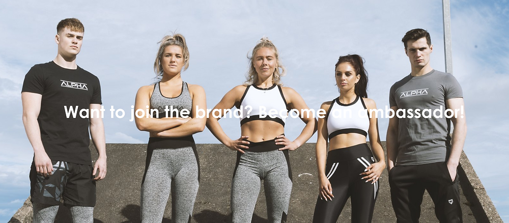 Mens and ladies activewear