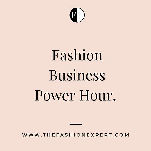 Fashion Business Power Hour.