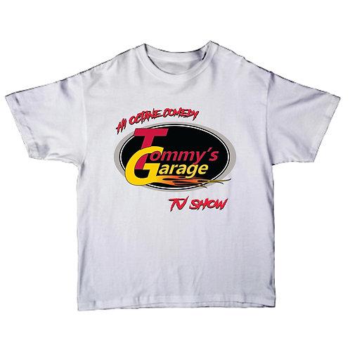 Tommy's Garage T-Shirt White