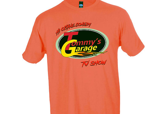 Tommy's Garage T-Shirt Coral