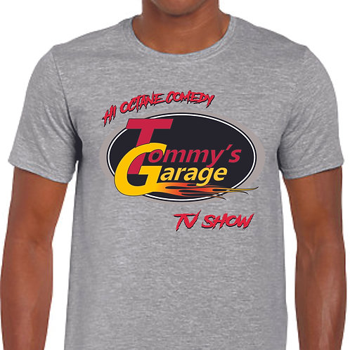 Tommy's Garage T-Shirt Grey