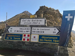 On the border of Savoie and de Hautes Alpes