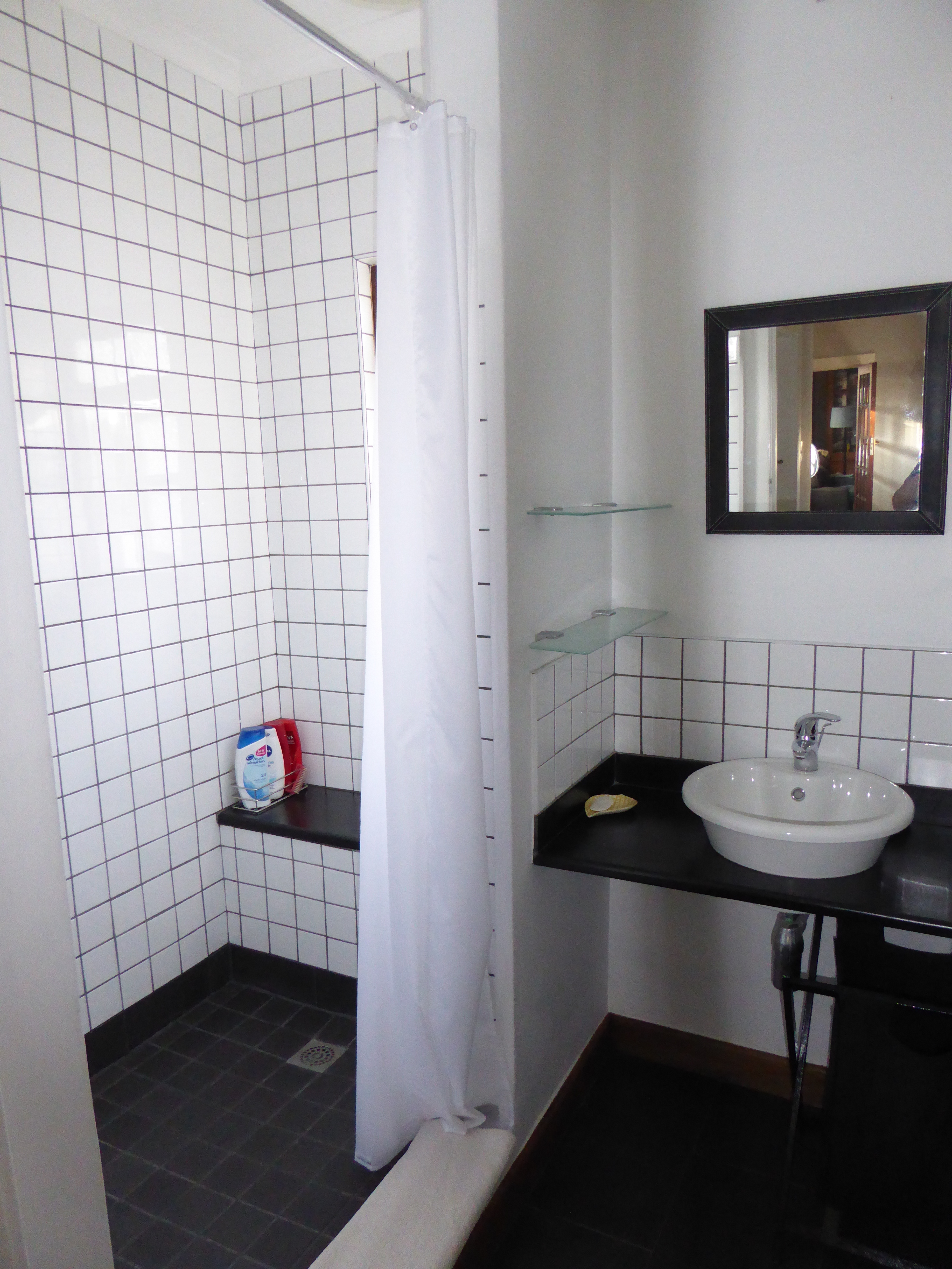 Shower & Separate Toilet