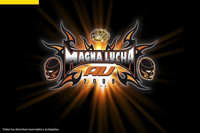 Logotipo Magna Lucha AU