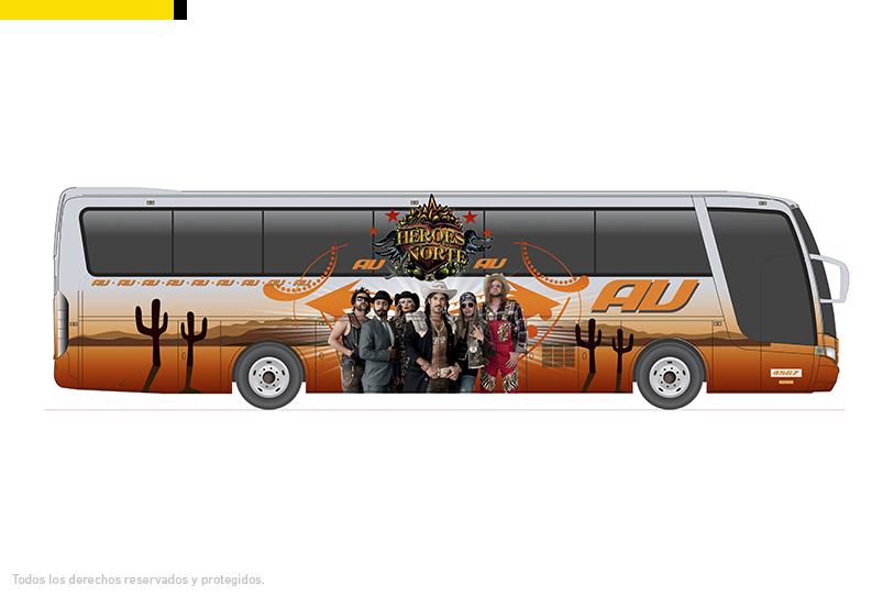 Diseño del autobús