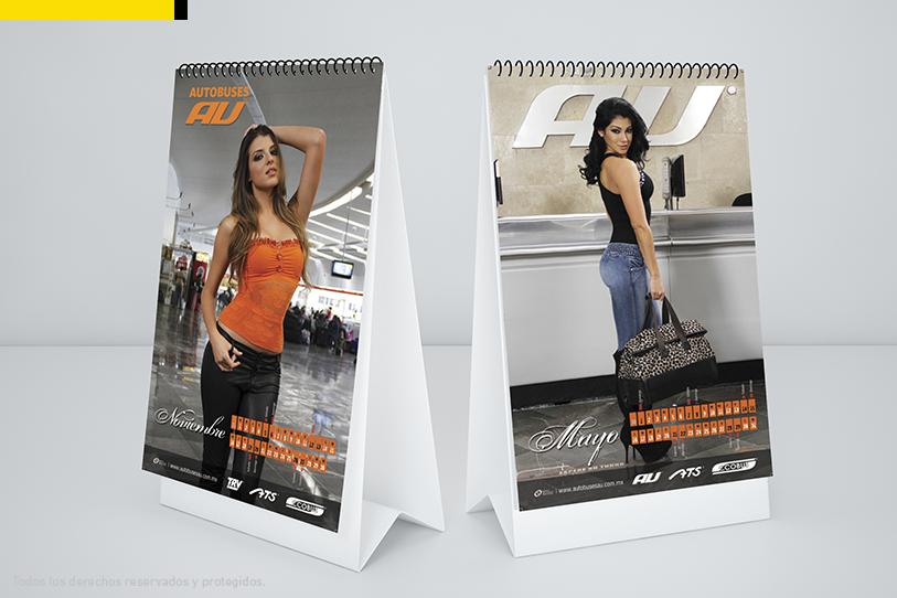 pagina de calendario