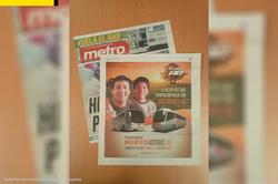 Anuncio periódico METRO DF