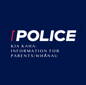 Kia Kaha: Police Resources for Parents / Whanau