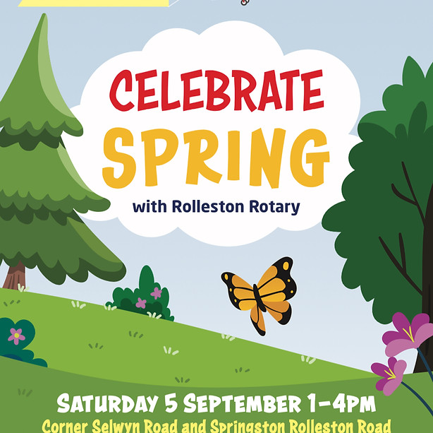Celebrate Spring with Rolleston Rotary