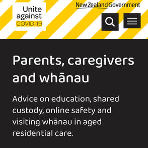 Parents Caregivers & Whanau: What you need to know about COVID