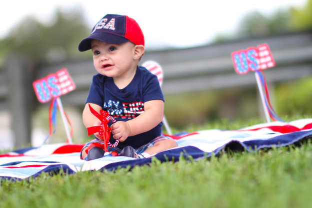 4rth of july baby pictures