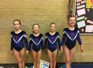 General Gymnastics Neon Competition Autumn 2016
