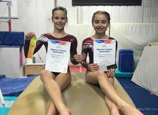 Womens Artistic London Regional Grades Championships 2016