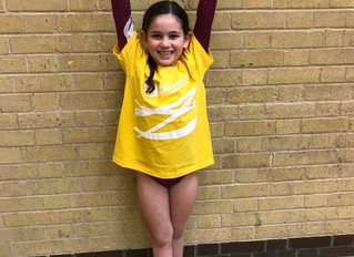 Neon Gymnastics Competition Winter 2018