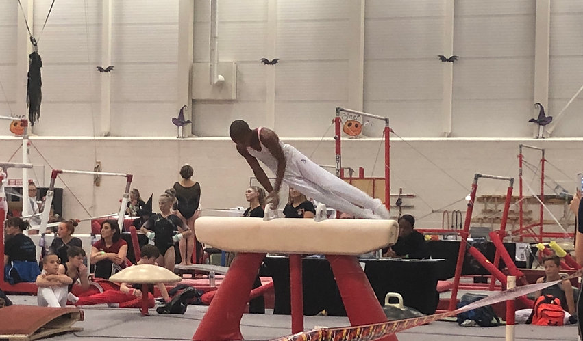 Amari Ford on Pommel