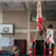 ⭐️Oliver ⭐️ On the parallel bars🤸♀️🤸