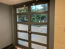 Doors to exit