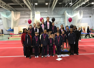 Charisma Gymnastics Club invitational 2017