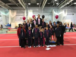Charisma Gymnastics Club invitational2017