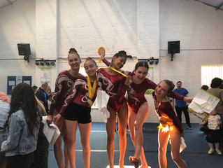 Erewash Valley Gymnastics Club competition 12th May 2019