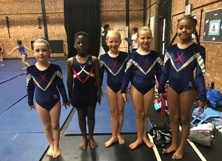 Neon Gymnastics Competition Summer 2019